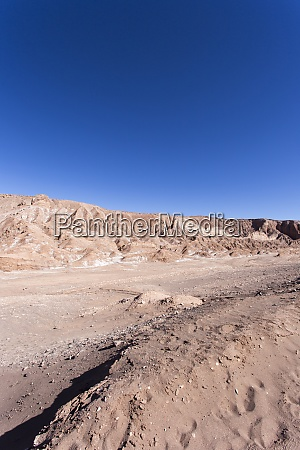 the mars valley in atacama desert