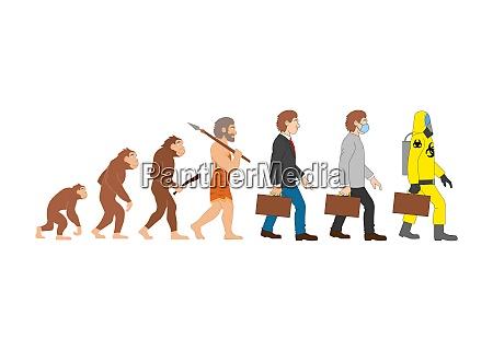 funny human evolution