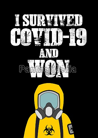 i survived covid 19 and won