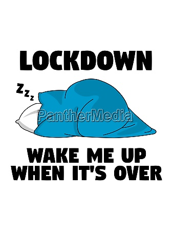 lockdown wake me up when its