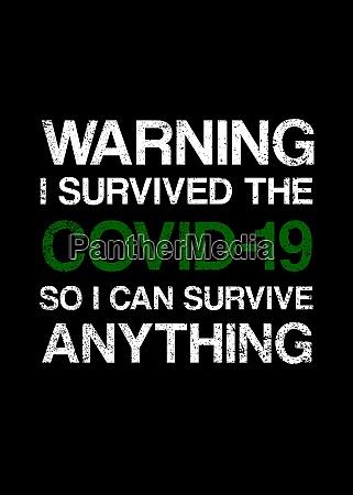 warning covid19 poster