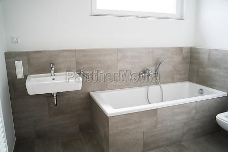 light bathroom appartment home interior