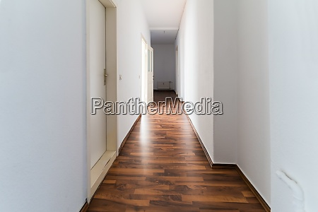 classic residential appartment hallway