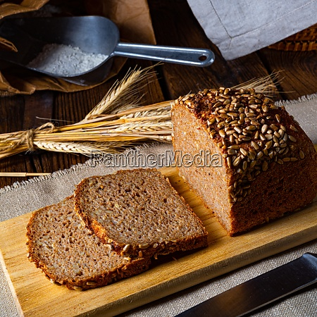 moist wholemeal bread crushed or ground