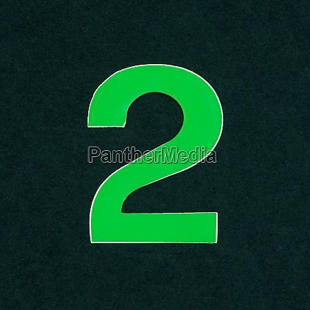 number 2 digit