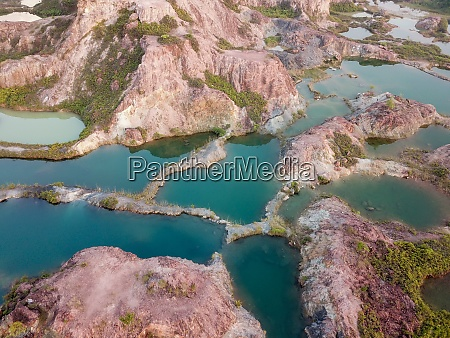 rock pool at guar petai