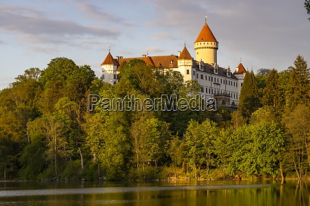 konopiste castle in central bohemia czech