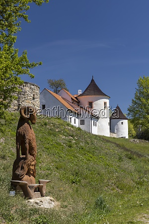 stronghold of zumberk southern bohemia czech