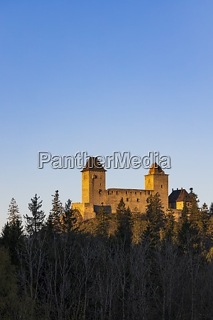 kasperk castle in sumava czech republic