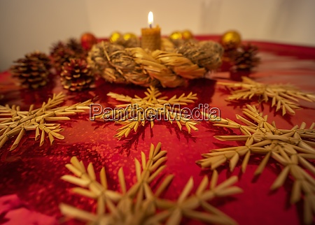old bohemian christmas still life