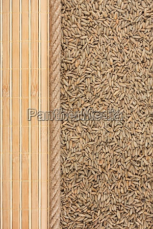 rye mat and rope for the