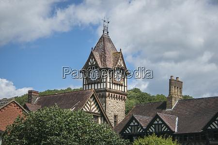 market town of ledbury hereforedshire uk