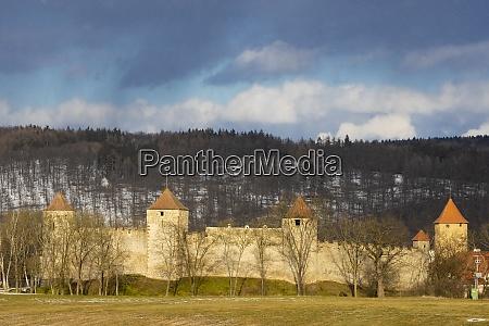 veveri castle in south moravia czech