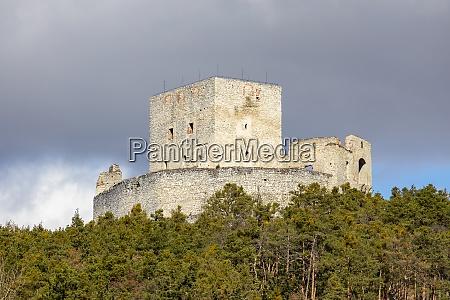 ruins of rabi castle czech republic