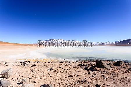 laguna blanca landscape bolivia