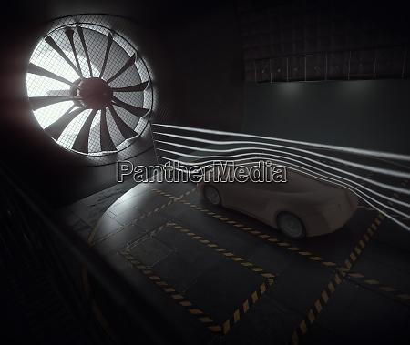 aerodynamic tunnel prototype sports car concept