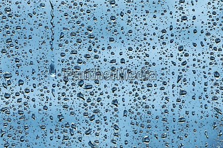 rainy window surface