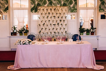 banquet hall for weddings with decorative