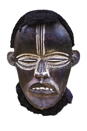 african tribal mask from dan people