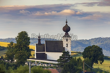 church in zehra spis region slovakia