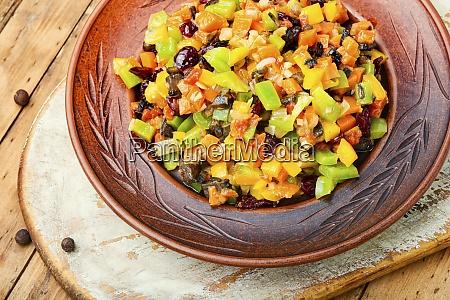 appetizing vegetable ragout