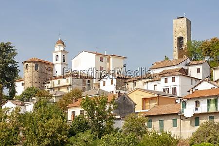historical town of cremolino piemonte italy