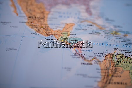 the countries from central america on