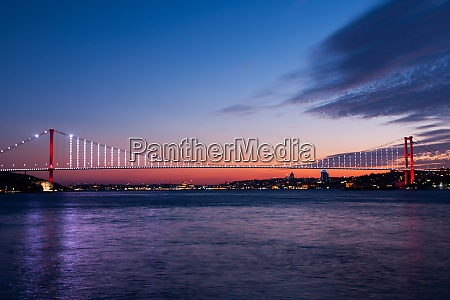 colorful, afternoon, and, bosphorus, bridge - 29018595