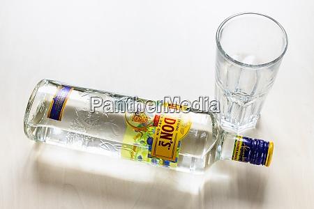 lying bottle of gordons london dry