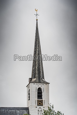 white church in noordwijkerhout in the