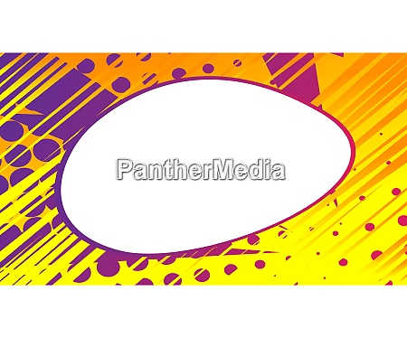 cartoon, design, colored, background, with, blank - 29019151