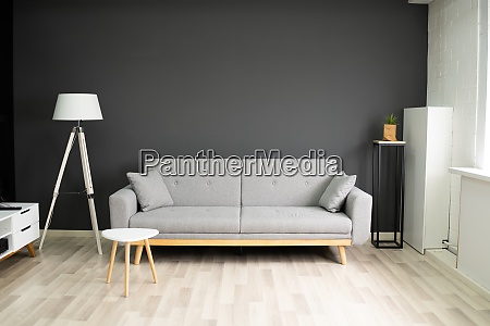 home comfort living room with sofa