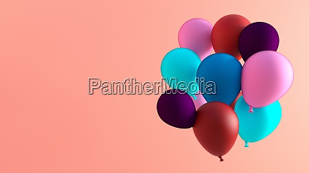 creative balloon background