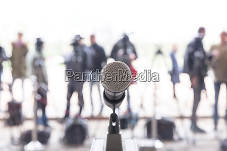 press or news conference