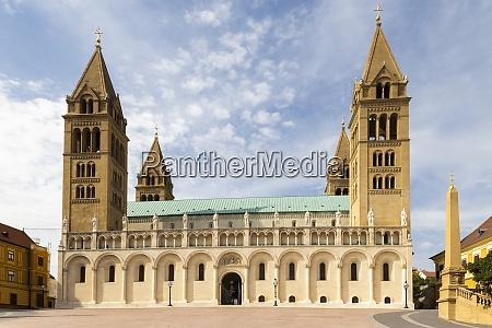 pecs cathedral baranya county hungary