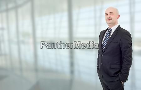 businessman portrait at the office
