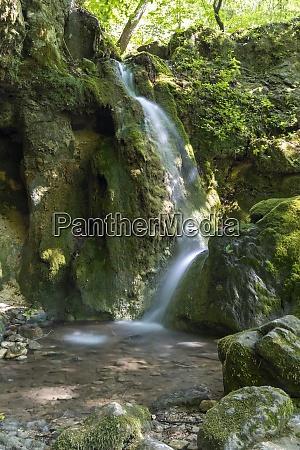 hajsky waterfall slovak paradise slovakia