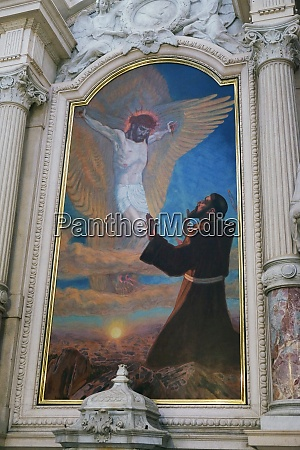 saint francis of assisi altarpiece in
