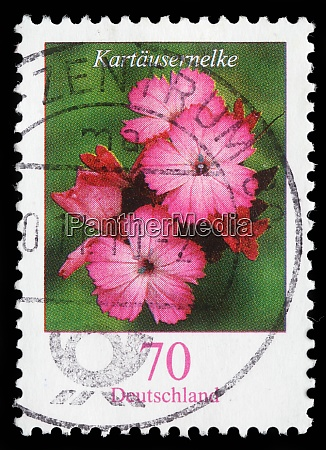 stamp printed in the federal republic