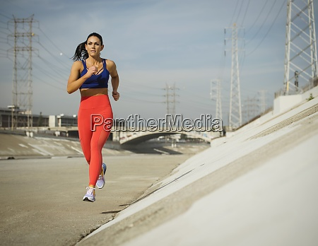 usa california los angeles sporty woman