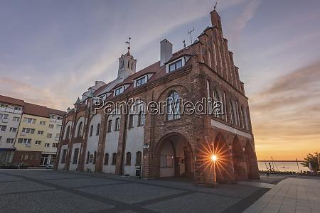 poland west pomerania kamien pomorski historic