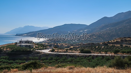 landscape of the villages sea and