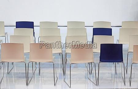 chair rows interior