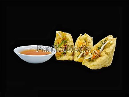 malay cuisine or stuffed tofu called