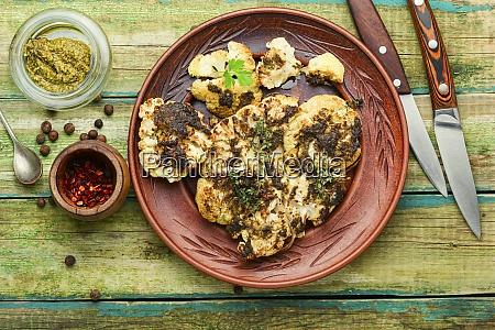 appetizing cauliflower steak