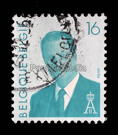 stamp printed in the belgium shows