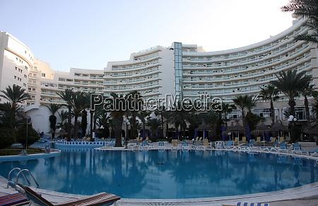 hotel swimming pool in sousse tunisia