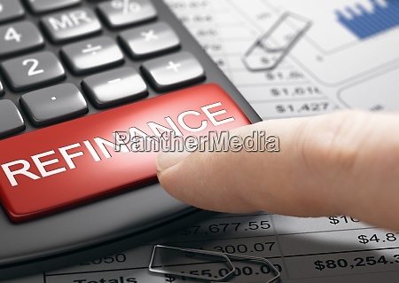 refinancing debt loan or mortgage bad
