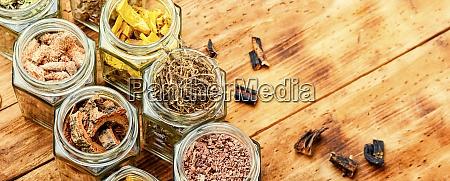 healing herbs or medicinal herbs