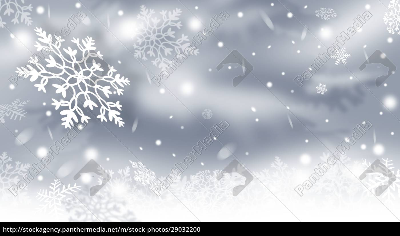 christmas, background, with, snowflakes, snowy, winter - 29032200